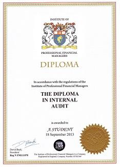 Дистанционное обучение внутреннему аудиту сертификацией dipia  Внутренний аудит с сертификацией на диплом dipia
